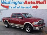 2011 Deep Cherry Red Crystal Pearl Dodge Ram 1500 Laramie Crew Cab 4x4 #99417151