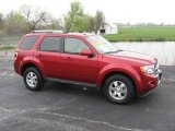 2009 Sangria Red Metallic Ford Escape Limited V6 #9942343