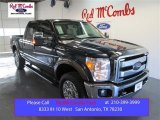 2015 Blue Jeans Ford F250 Super Duty Lariat Crew Cab 4x4 #99417058