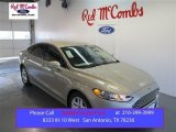 2015 Tectonic Silver Metallic Ford Fusion SE #99417057