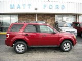 2009 Sangria Red Metallic Ford Escape XLT #9942286