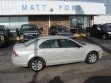 2008 Light Sage Metallic Ford Fusion S #9942367