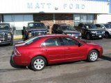 2008 Redfire Metallic Ford Fusion S #9942368