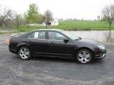 2010 Tuxedo Black Metallic Ford Fusion Sport #9942328