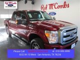 2015 Ruby Red Ford F250 Super Duty Lariat Crew Cab 4x4 #99456376