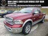 2015 Deep Cherry Red Crystal Pearl Ram 1500 Laramie Quad Cab 4x4 #99456569