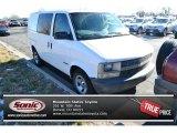 2001 Ivory White Chevrolet Astro Commercial Van #99480936