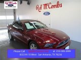 2014 Ruby Red Ford Mustang V6 Convertible #99480980