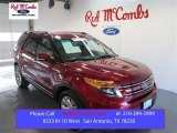 2014 Ruby Red Ford Explorer Limited 4WD #99480979
