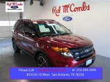 2014 Ruby Red Ford Explorer Sport 4WD #99480993