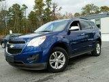 Navy Blue Metallic Chevrolet Equinox in 2010