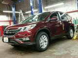2015 Basque Red Pearl II Honda CR-V EX-L AWD #99487741