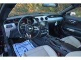 2015 Ford Mustang EcoBoost Premium Coupe Ceramic Interior