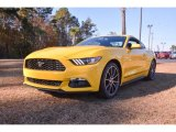 2015 Triple Yellow Tricoat Ford Mustang EcoBoost Coupe #99487634