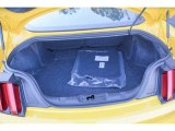 2015 Ford Mustang EcoBoost Coupe Trunk