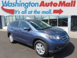 2012 Twilight Blue Metallic Honda CR-V EX 4WD #99505644