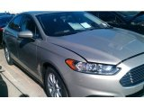 2015 Tectonic Silver Metallic Ford Fusion S #99505618