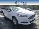 2015 Oxford White Ford Fusion S #99521324