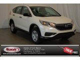 2015 White Diamond Pearl Honda CR-V LX #99530047