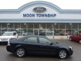 2008 Dark Blue Ink Metallic Ford Fusion SE V6 AWD #99530232