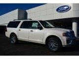 2015 White Platinum Metallic Tri-Coat Ford Expedition EL Limited 4x4 #99530178