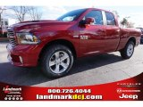 2015 Deep Cherry Red Crystal Pearl Ram 1500 Sport Quad Cab #99530151