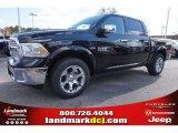 2015 Black Ram 1500 Laramie Crew Cab #99530149