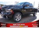2015 Black Ram 1500 Sport Quad Cab #99530147