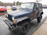 2000 Jeep Wrangler Patriot Blue Pearl