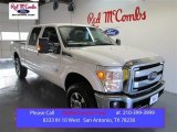 2015 Oxford White Ford F250 Super Duty Lariat Crew Cab 4x4 #99553603