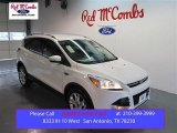 2015 White Platinum Metallic Tri-Coat Ford Escape Titanium #99596725