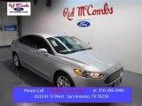 2015 Ingot Silver Metallic Ford Fusion SE #99596724