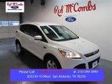 2015 White Platinum Metallic Tri-Coat Ford Escape SE #99596717