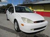 2003 Cloud 9 White Ford Focus LX Sedan #99596919