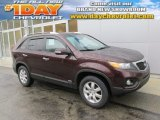 2011 Dark Cherry Kia Sorento LX AWD #99596704