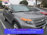 2014 Sterling Gray Ford Explorer Limited #99596736