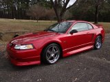 2000 Ford Mustang GT Coupe Front 3/4 View
