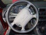 2000 Ford Mustang GT Coupe Steering Wheel