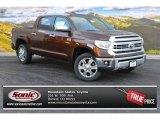 2015 Sunset Bronze Mica Toyota Tundra 1794 Edition CrewMax 4x4 #99596682