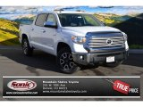 2015 Super White Toyota Tundra Limited CrewMax 4x4 #99596678
