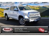 2015 Super White Toyota Tundra 1794 Edition CrewMax 4x4 #99596670