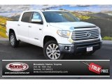 2015 Super White Toyota Tundra Limited CrewMax 4x4 #99596668