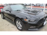 2015 Black Ford Mustang V6 Coupe #99631749
