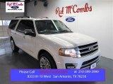 2015 White Platinum Metallic Tri-Coat Ford Expedition EL Platinum #99631747