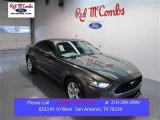2015 Magnetic Metallic Ford Mustang V6 Coupe #99631739