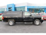 2011 Black Chevrolet Silverado 1500 LT Regular Cab 4x4 #99631724
