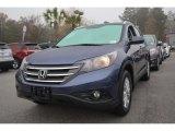 2014 Twilight Blue Metallic Honda CR-V EX-L #99631964