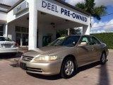 2002 Naples Gold Metallic Honda Accord EX Sedan #99631710
