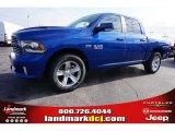 2015 Blue Streak Pearl Ram 1500 Sport Crew Cab #99631855