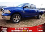 2015 Blue Streak Pearl Ram 1500 Big Horn Crew Cab 4x4 #99631854